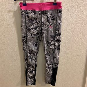 Puma athletic leggings, girls 6